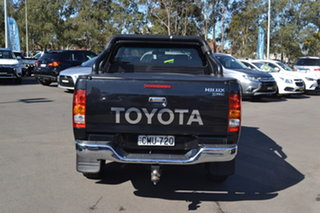 2010 Toyota Hilux KUN26R MY10 SR5 Black 5 Speed Manual Utility