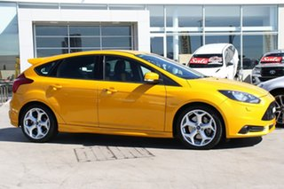 2014 Ford Focus LW MkII Sport Tangerine Scream 5 Speed Manual Hatchback.