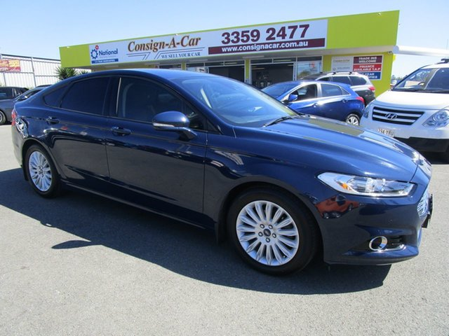 Used Ford Mondeo MD Trend, 2015 Ford Mondeo MD Trend Blue 6 Speed Sports Automatic Hatchback