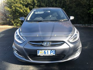 2017 Hyundai Accent RB4 MY17 SR Sonic Silver 6 Speed Sports Automatic Hatchback