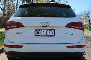 2012 Audi Q5 8R MY12 2.0 TDI Quattro White 7 Speed Auto Dual Clutch Wagon.