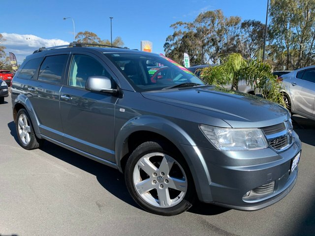 Used Dodge Journey JC MY10 R/T, 2010 Dodge Journey JC MY10 R/T Light Grey 6 Speed Seq Manual Auto-Clutch Wagon