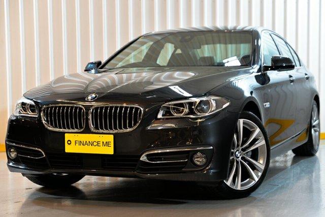 Used BMW 5 Series F10 LCI 528i Steptronic Luxury Line, 2016 BMW 5 Series F10 LCI 528i Steptronic Luxury Line Grey 8 Speed Sports Automatic Sedan