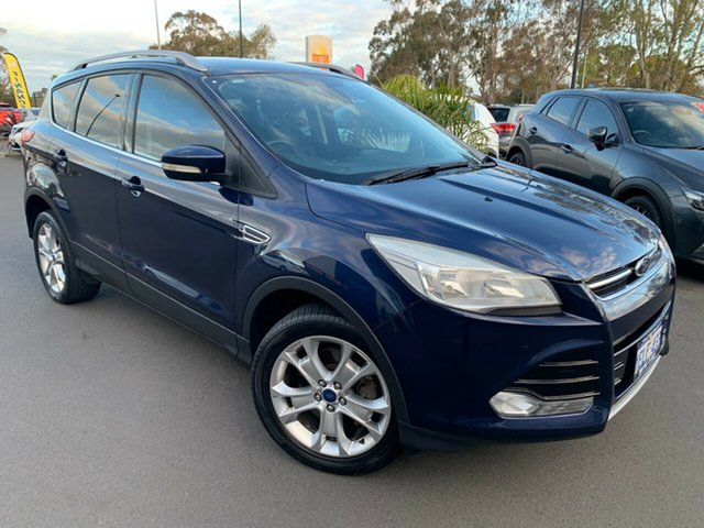 Used Ford Kuga TF Trend AWD, 2013 Ford Kuga TF Trend AWD Blue 6 Speed Sports Automatic Wagon