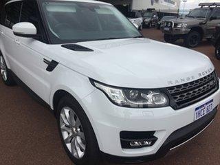 2014 Land Rover Range Rover LW Sport 3.0 SDV6 SE White 8 Speed Automatic Wagon.