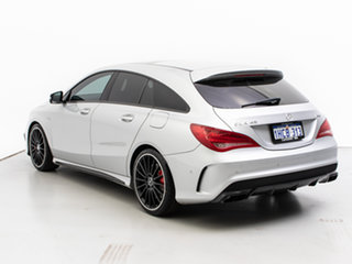 2015 Mercedes-Benz CLA45 AMG 4Matic Shooting Brake 117 Silver 7 Speed Auto Dual Clutch Wagon