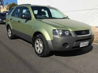 2004 Ford Territory SX TX Green 4 Speed Sports Automatic Wagon.