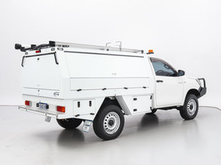 2017 Toyota Hilux GUN125R Workmate (4x4) White 6 Speed Automatic Cab Chassis