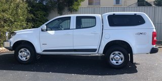 2017 Holden Colorado RG MY17 LS Pickup Crew Cab Summit White 6 Speed Manual Utility