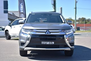 2017 Mitsubishi Outlander ZL MY18.5 ES 2WD ADAS Grey 6 Speed Constant Variable Wagon.