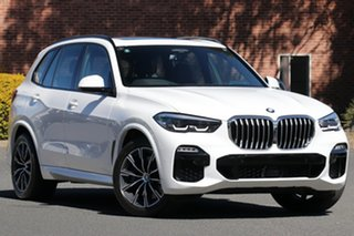 2019 BMW X5 G05 MY19 xDrive 30d M Sport (5 Seat) White 8 Speed Auto Dual Clutch Wagon.