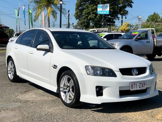 Used Holden Commodore VE SV6, 2007 Holden Commodore VE SV6 White 5 Speed Sports Automatic Sedan