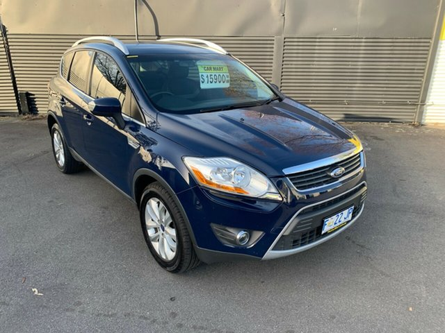 Used Ford Kuga TE Trend AWD, 2012 Ford Kuga TE Trend AWD Blue 5 Speed Sports Automatic Wagon