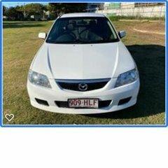 2003 Mazda 323 BJ II-J48 Astina White 4 Speed Automatic Hatchback