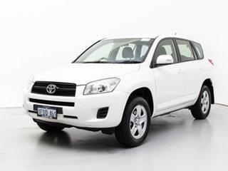 2013 Toyota RAV4 ACA38R CV (2WD) White 4 Speed Automatic Wagon.