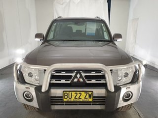 2012 Mitsubishi Pajero NW MY13 VR-X Brown 5 Speed Sports Automatic Wagon.