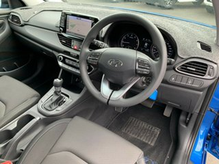 2017 Hyundai i30 PD MY18 Active Blue 6 Speed Sports Automatic Hatchback