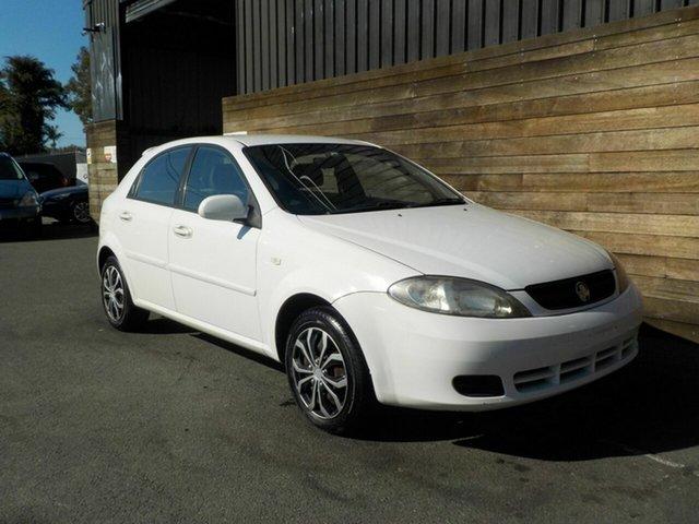 Used Holden Viva JF MY08 , 2007 Holden Viva JF MY08 White 4 Speed Automatic Hatchback
