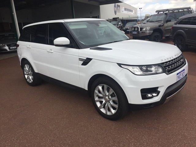 Used Land Rover Range Rover LW Sport 3.0 SDV6 SE, 2014 Land Rover Range Rover LW Sport 3.0 SDV6 SE White 8 Speed Automatic Wagon