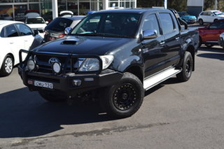 2010 Toyota Hilux KUN26R MY10 SR5 Black 5 Speed Manual Utility.