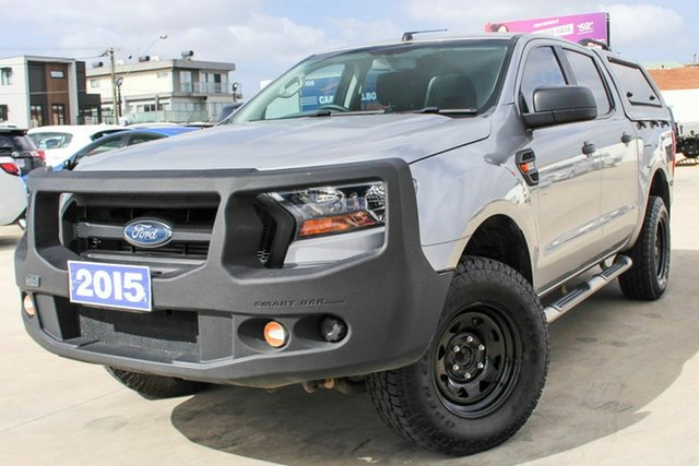 Used Ford Ranger PX MkII XL, 2015 Ford Ranger PX MkII XL Grey 6 Speed Sports Automatic Utility