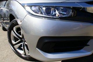 2018 Honda Civic 10th Gen MY18 VTi Grey 1 Speed Constant Variable Sedan.