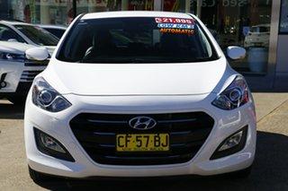 2015 Hyundai i30 GD4 Series 2 Active X 1.6 CRDi Polar White 7 Speed Auto Dual Clutch Hatchback