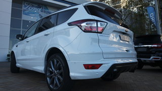 2019 Ford Escape ZG 2019.75MY ST-Line Frozen White 6 Speed Sports Automatic SUV