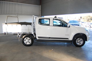 2016 Holden Colorado RG MY16 LS Crew Cab 4x2 White 6 Speed Sports Automatic Cab Chassis