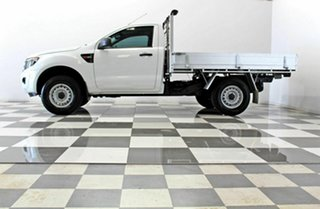 2015 Ford Ranger PX XL 2.2 Hi-Rider (4x2) White 6 Speed Automatic Cab Chassis