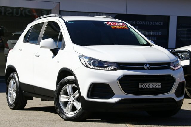 Used Holden Trax TJ MY17 LS, 2017 Holden Trax TJ MY17 LS White 6 Speed Automatic Wagon