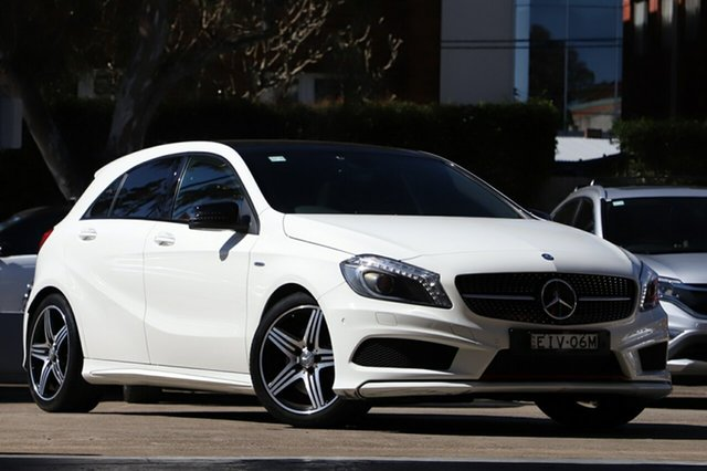 Used Mercedes-Benz A250 176 MY15 Sport, 2015 Mercedes-Benz A250 176 MY15 Sport 7 Speed Automatic Hatchback