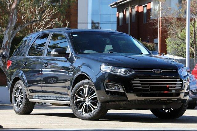 Used Ford Territory SZ MK2 TS (4x4), 2015 Ford Territory SZ MK2 TS (4x4) Black 6 Speed Automatic Wagon