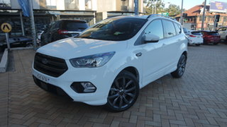 2019 Ford Escape ZG 2019.75MY ST-Line Frozen White 6 Speed Sports Automatic SUV.