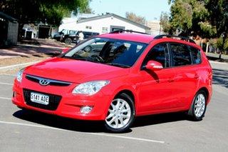 2009 Hyundai i30 FD MY09 SLX cw Wagon Red 4 Speed Automatic Wagon.