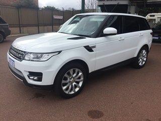 2014 Land Rover Range Rover LW Sport 3.0 SDV6 SE White 8 Speed Automatic Wagon