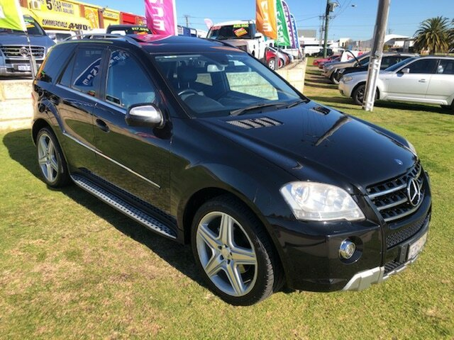 Used Mercedes-Benz M-Class W164 MY10 ML350 Wangara, 2010 Mercedes-Benz M-Class W164 MY10 ML350 Black 7 Speed Sports Automatic Wagon