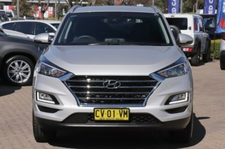 2019 Hyundai Tucson TL3 MY19 Elite (AWD) Platinum Silver 7 Speed Auto Dual Clutch Wagon