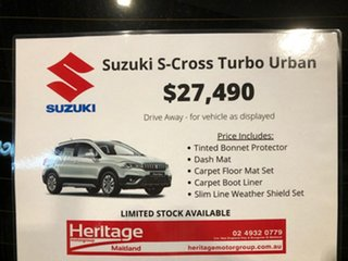 2019 Suzuki S-Cross JY Turbo Silver 6 Speed Sports Automatic Hatchback