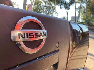 2008 Nissan Navara D40 ST-X Maroon 6 Speed Manual Utility