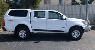 2017 Holden Colorado RG MY17 LS Pickup Crew Cab Summit White 6 Speed Manual Utility.