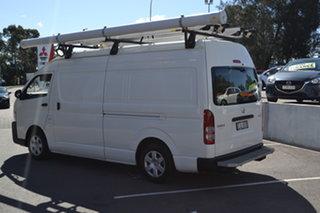 2016 Toyota HiAce KDH221R High Roof Super LWB White 4 Speed Automatic Van