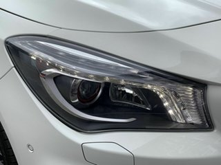 2015 Mercedes-Benz CLA-Class X117 CLA250 Shooting Brake DCT 4MATIC Sport White 7 Speed