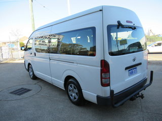 2008 Toyota HiAce KDH223R Commuter White 4 Speed Automatic Bus