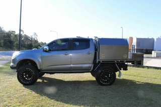 2016 Holden Colorado RG MY16 Storm Crew Cab Grey 6 Speed Manual Utility