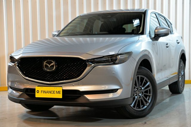 Used Mazda CX-5 KF4W2A Touring SKYACTIV-Drive i-ACTIV AWD Hendra, 2018 Mazda CX-5 KF4W2A Touring SKYACTIV-Drive i-ACTIV AWD Silver 6 Speed Sports Automatic Wagon
