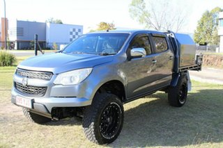 2016 Holden Colorado RG MY16 Storm Crew Cab Grey 6 Speed Manual Utility.