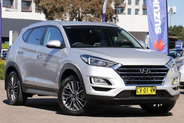 Used Hyundai Tucson TL3 MY19 Elite (AWD), 2019 Hyundai Tucson TL3 MY19 Elite (AWD) Platinum Silver 7 Speed Auto Dual Clutch Wagon