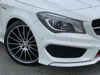 2015 Mercedes-Benz CLA-Class X117 CLA250 Shooting Brake DCT 4MATIC Sport White 7 Speed.