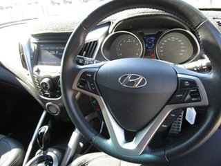 2012 Hyundai Veloster FS Coupe D-CT Silver 6 Speed Sports Automatic Dual Clutch Hatchback